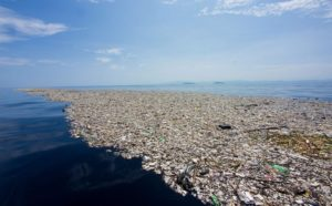 single use plastic pollution finding its way into every ocean on the planet